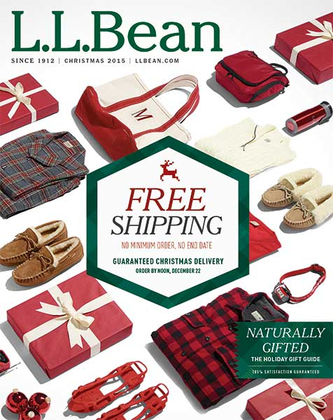 LL Bean catalog cover